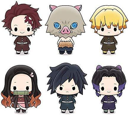 DEMON SLAYER MEGAHOUSE CHOKORIN MASCOT [repeat] (1 Random Blind Box)