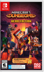 Minecraft Dungeons Hero Edition - Switch