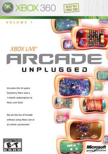 Xbox Live Arcade Unplugged Volume 1 - Xbox 360 (Pre-owned)