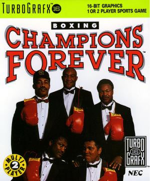 Champions Forever Boxing (No Cardboard) - TurboGrafx-16 (Pre-owned)