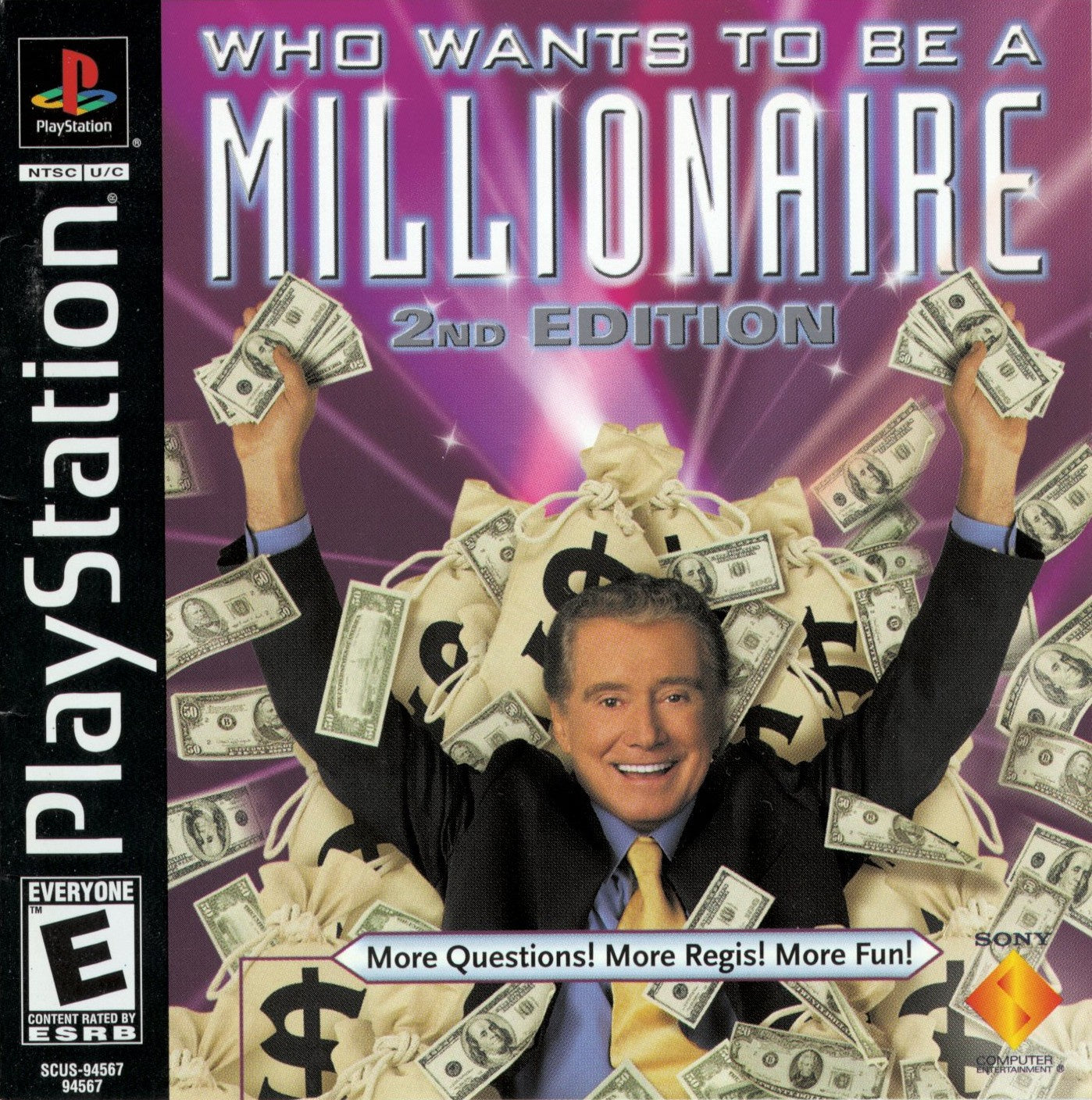 Who Wants To Be A Millionaire 2nd Edition - PS1 (Pre-owned)