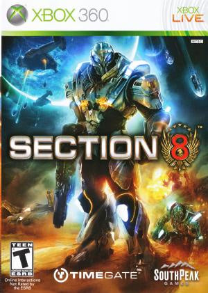 Section 8 - Xbox 360 (Pre-owned)