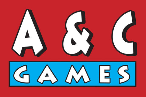 """A & C Games"" Enamel Pin (Free shipping for this product only promo!)"