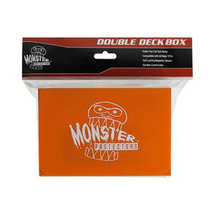 Monster Protectors: Double Deck Box - Matte Orange