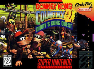 Donkey Kong Country 2 - SNES (Pre-owned)