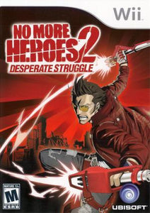 No More Heroes 2: Desperate Struggle - Wii (Pre-owned)