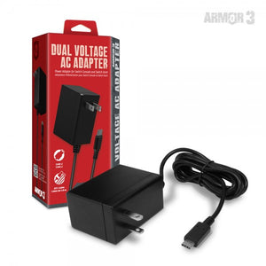 Armor3 Dual Voltage AC Adapter for Switch (M07318)