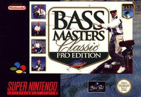 Bass Masters Classic Pro Edition - SNES (Pre-owned)