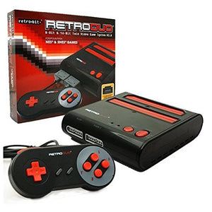 BLACK/RED RETRO DUO SYSTEM [RETRO BIT]