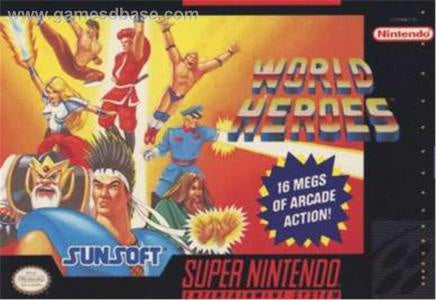 World Heroes - SNES (Pre-owned)