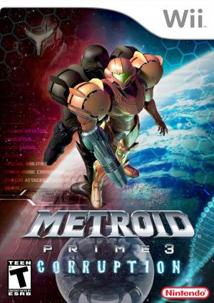 Metroid Prime 3 Corruption - Wii (Pre-owned)
