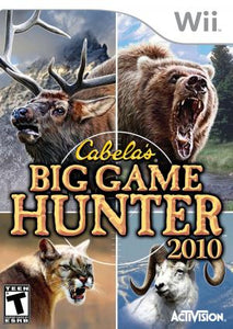 Cabela's Big Game Hunter 2010 - Wii (Pre-owned)