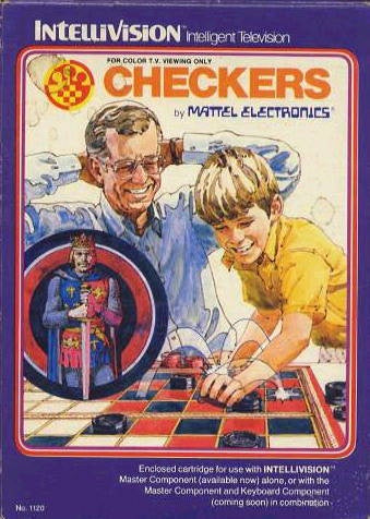 Checkers - Intellivision (Pre-owned)