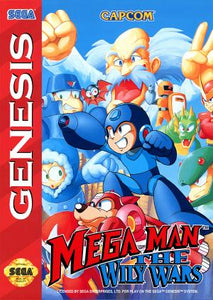 Megaman - The Wily Wars (Reproduction) - Genesis (Pre-owned)