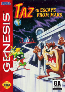 Taz in Escape from Mars - Genesis (Pre-owned)