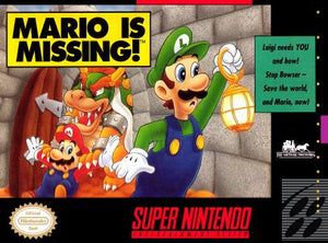 Mario is Missing - SNES (Pre-owned)