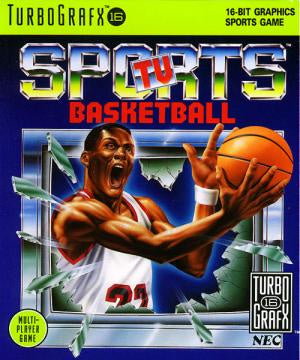 TV Sports Basketball - TurboGrafx-16 (Pre-owned)