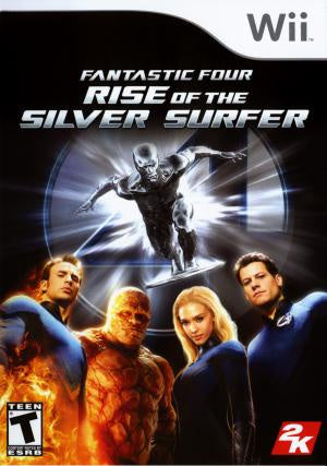 Fantastic 4 Rise of the Silver Surfer - Wii (Pre-owned)