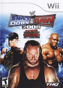 WWE Smackdown vs. Raw 2008 - Wii (Pre-owned)