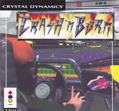 Crash 'N Burn  (Jewel Case) - 3DO (Pre-owned)