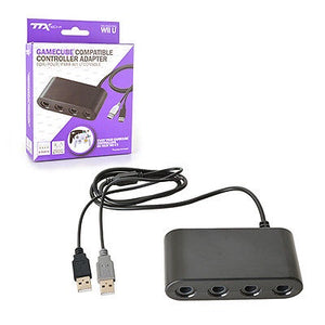 4 PORT GAMECUBE CTRL TO WII-U ADAPTER [TTX TECH]