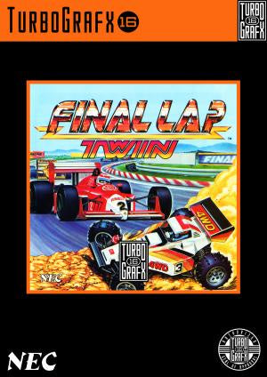 Final Lap Twin - TurboGrafx-16 (Pre-owned)