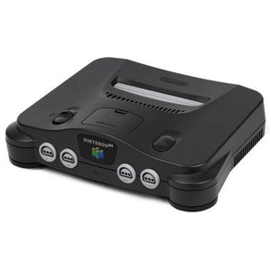 Nintendo 64 Replacement System Console Only Original N64 (No controllers, jumper pak, expansion pak, wires or accessories included)