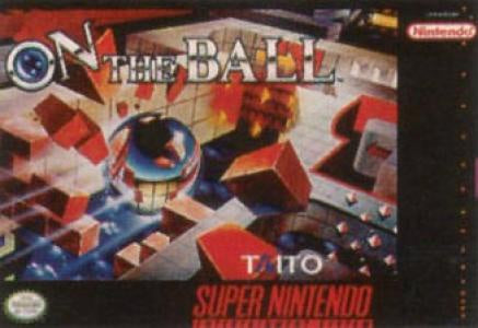 On the Ball - SNES (Pre-owned)