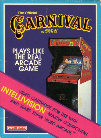 Carnival - Intellivision (Pre-owned)