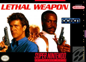 Lethal Weapon - SNES (Pre-owned)