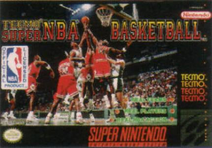 Tecmo Super NBA Basketball - SNES (Pre-owned)