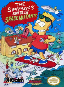 The Simpsons Bart vs the Space Mutants - NES (Pre-owned)