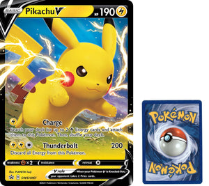 Pikachu V (SWSH: Sword & Shield Promo Cards) - SWSH061 Jumbo Oversized Card