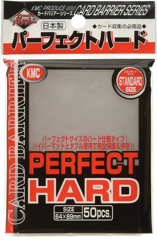 KMC Perfect Hard Card Barrier STANDARD SIZE 64x89mm 50pcs