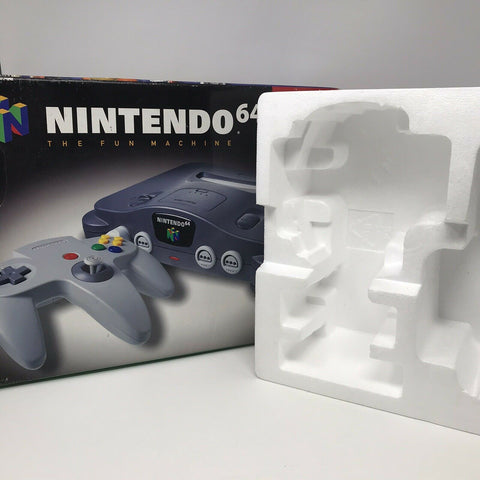 Nintendo 64 N64 Console Box and Styrofoam Only (No Hardware)