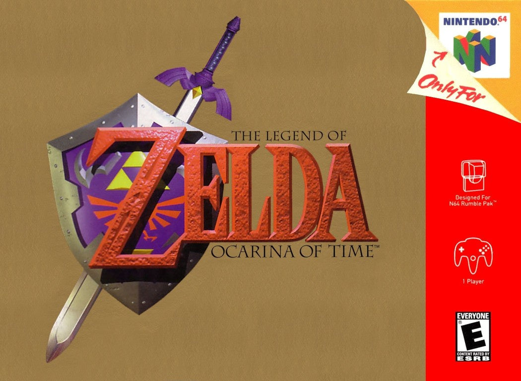 The Legend of Zelda: Ocarina of Time - N64 (Pre-owned)