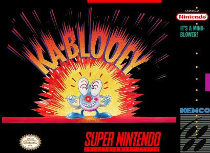 Ka-blooey - SNES (Pre-owned)