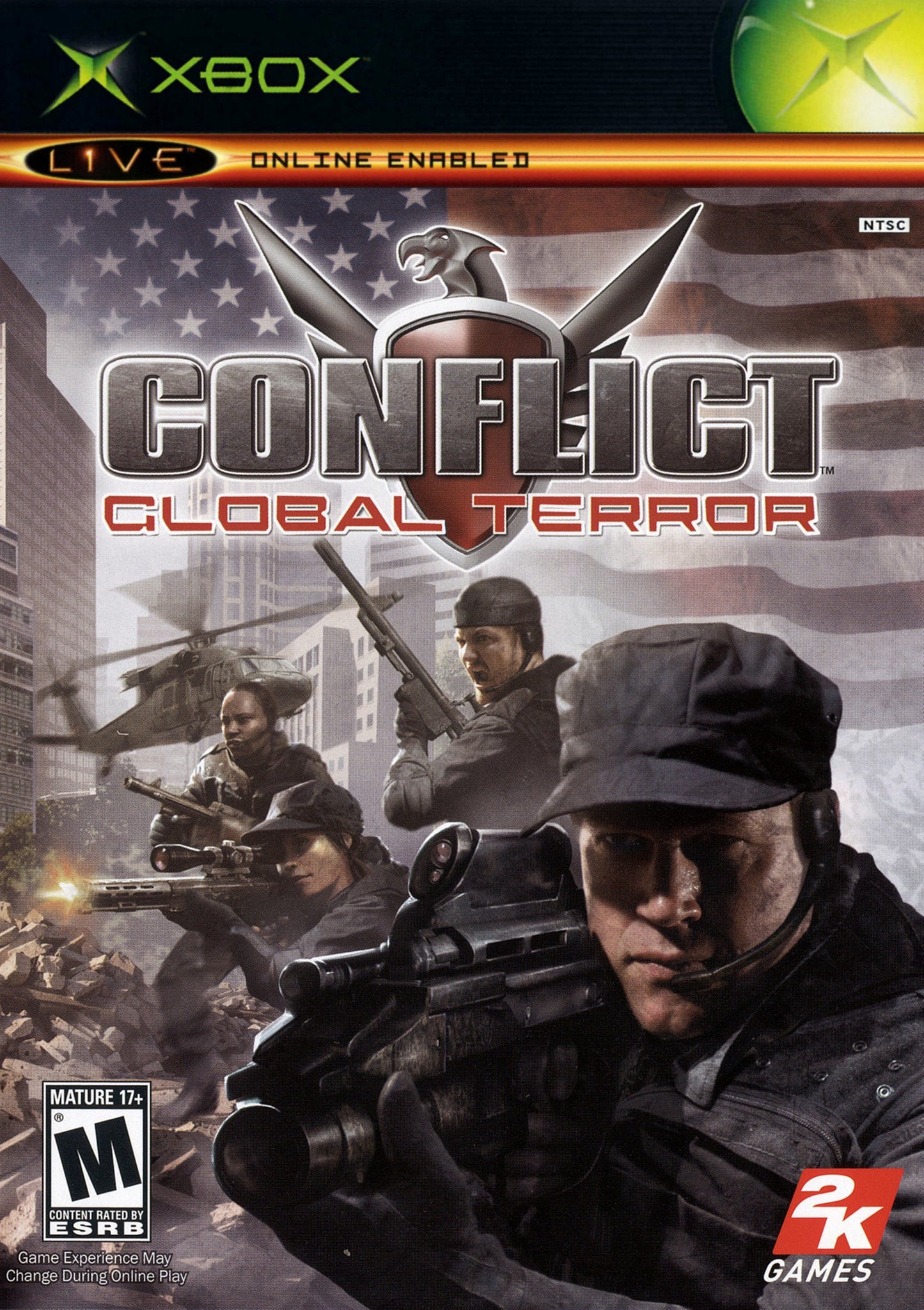 Conflict Global Terror - Xbox (Pre-owned)