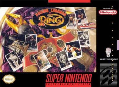 Boxing Legends Of The Ring - SNES (Pre-owned)