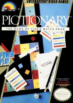 Pictionary - NES (Pre-owned)