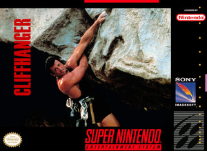 Cliffhanger - SNES (Pre-owned)