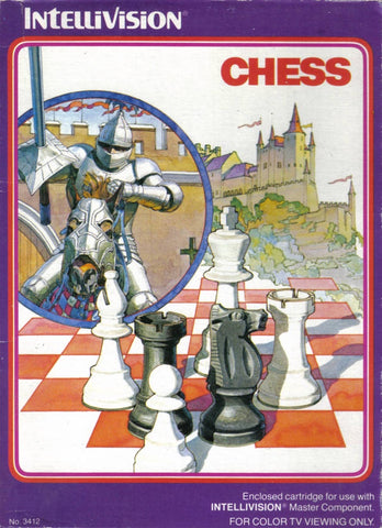 Chess - Intellivision (Pre-owned)