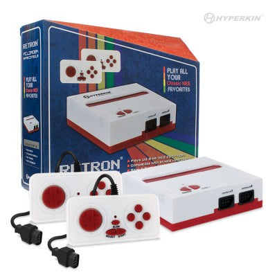 Retron 1 Nes System Red/White
