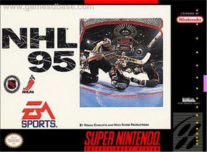 NHL 95 - SNES (Pre-owned)