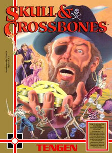 Skull and Crossbones - NES (Pre-owned)