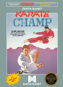Karate Champ - NES (Pre-owned)