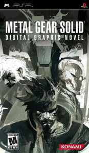 Metal Gear Solid Digital Graphic Novel - PSP (Pre-owned)
