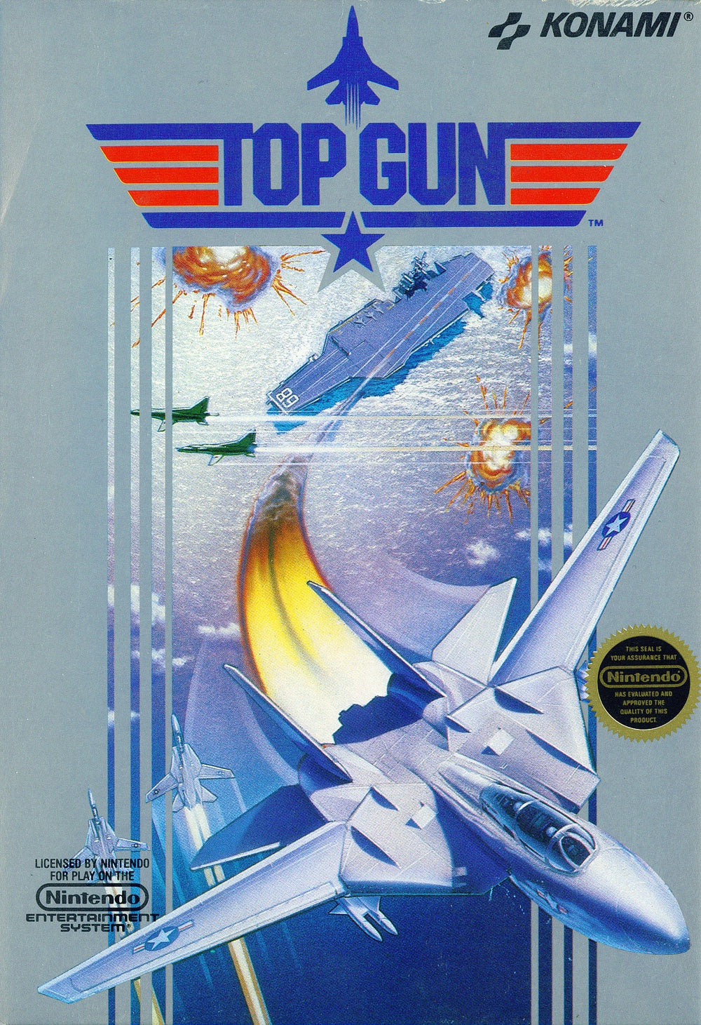Top Gun - NES (Pre-owned)