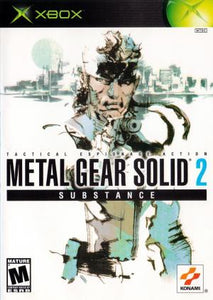 Metal Gear Solid 2 Substance - Xbox (Pre-owned)