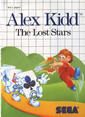 Alex Kidd: The Lost Stars - SMS (Pre-owned)